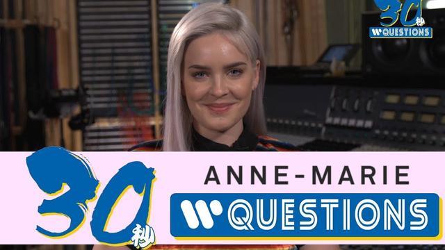画像: Anne-Marie 30 seconds Questions! www.youtube.com