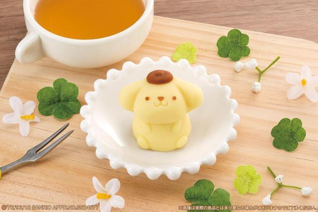 """画像4: ローソンで!ハローキティとポムポムプリンの""""和菓子""""が発売!"""