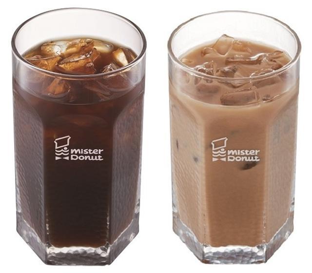 画像: カフェインレスアイスコーヒー (302円) /カフェインレスアイスカフェオレ (334円)