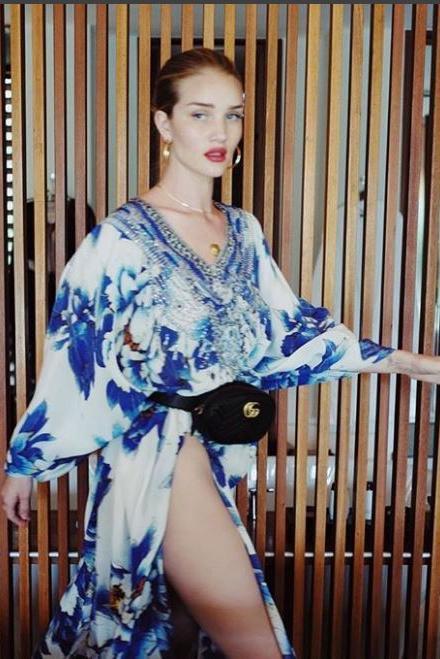 画像: 女優兼モデルのロージー・ハンティントン・ホワイトリー