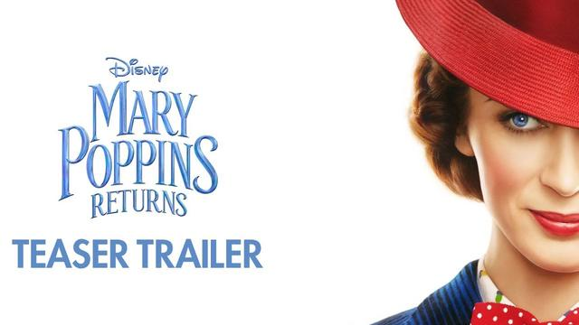 画像: Mary Poppins Returns Official Teaser Trailer www.youtube.com
