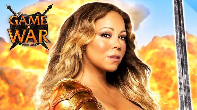 """画像: Game of War - """"HERO"""" ft. Mariah Carey - Strategy MMO Game youtu.be"""