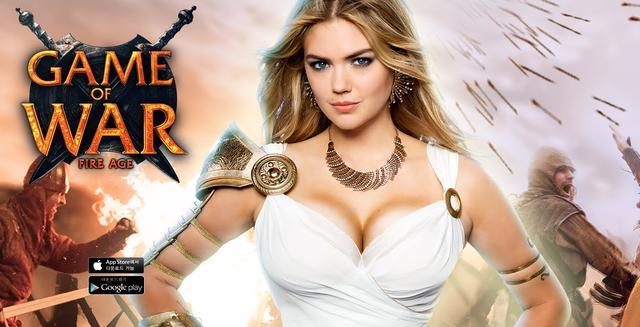 画像: Kate Upton Game of War Commercial youtu.be