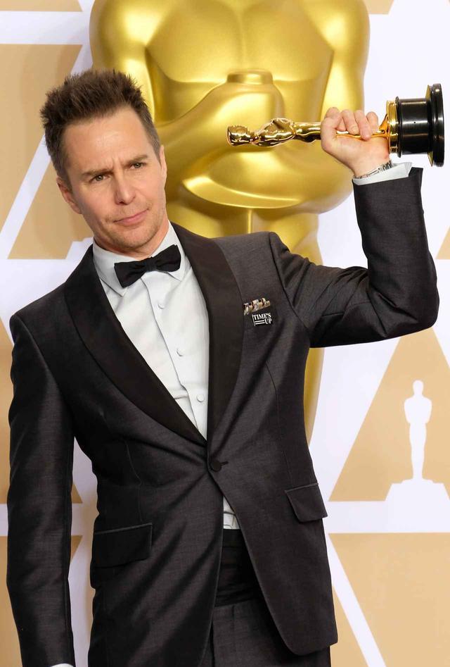 画像: 映画『スリー・ビルボード』で助演男優賞を獲得したサム・ロックウェル。