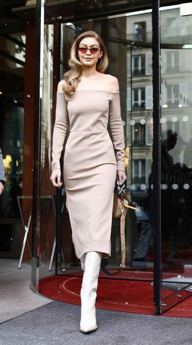 画像1: ジジ・ハディッド、レディ→カジュアルで雰囲気を変えた最新ファッションに注目