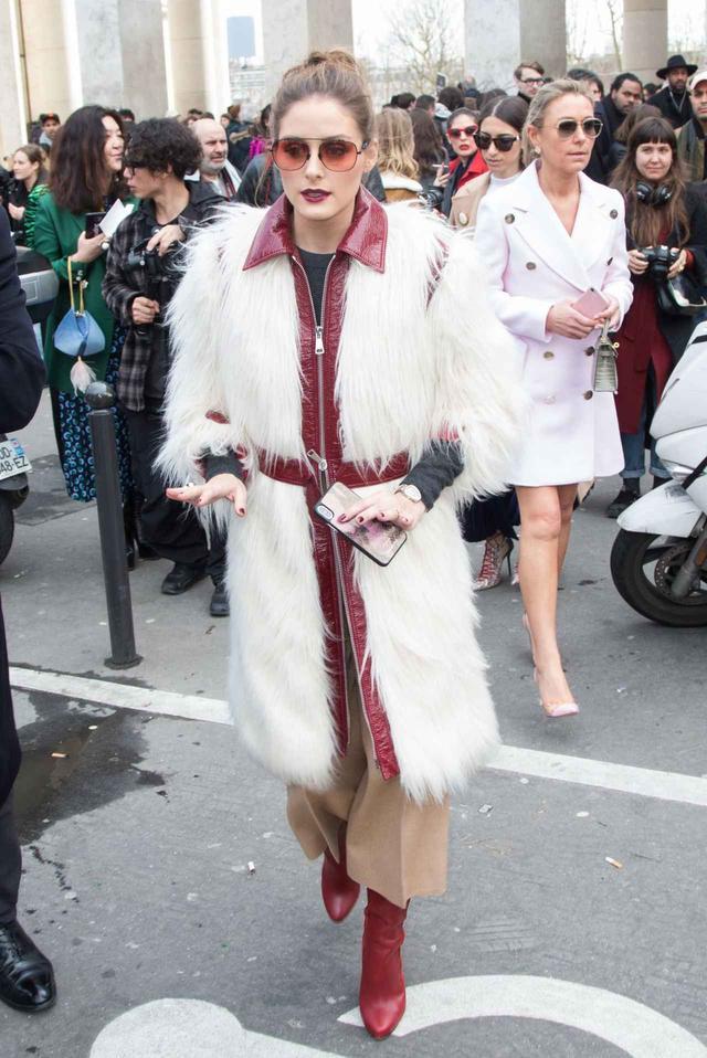 画像1: 【2018秋冬】パリ・ファッションウィークでの海外セレブのコーデをレポート