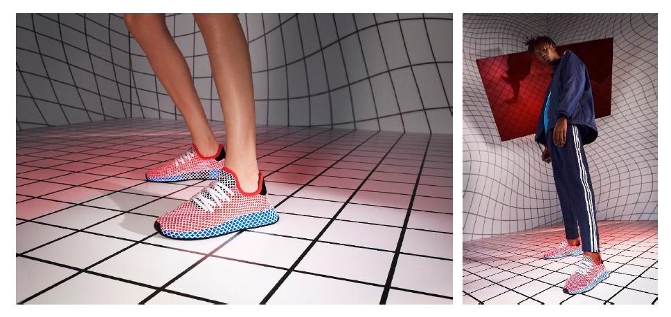 画像2: アディダス オリジナルス、グリッドデザインの新スニーカー「DEERUPT」世界一斉発売