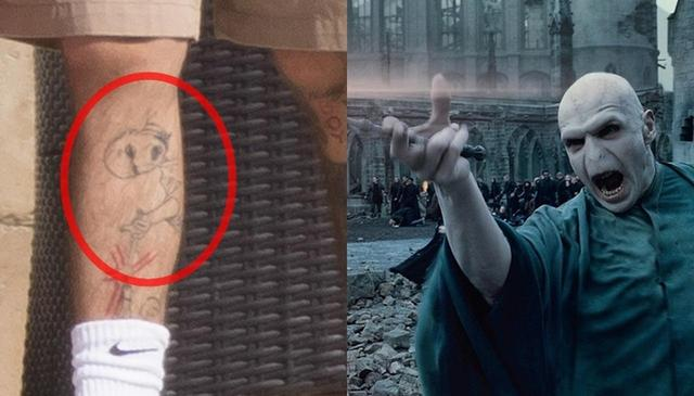 画像3: ゼイン・マリク、新しく入れたタトゥーは『ハリポタ』のあのキャラ