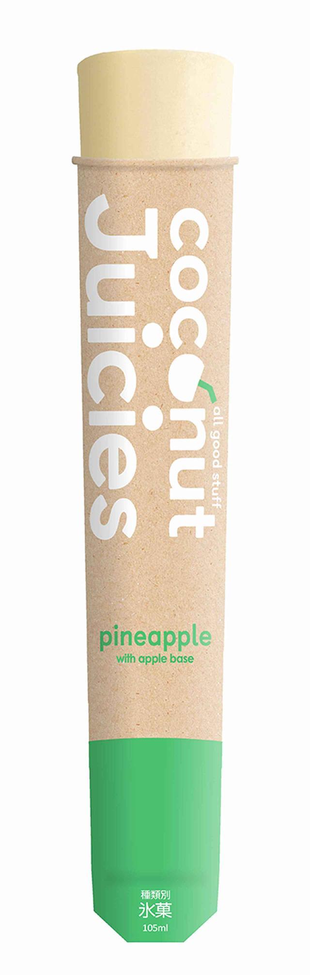 画像1: ニュージーランド発の砂糖・甘味料・着色料不使用アイス『ジューシーズ』よりココナッツシリーズ