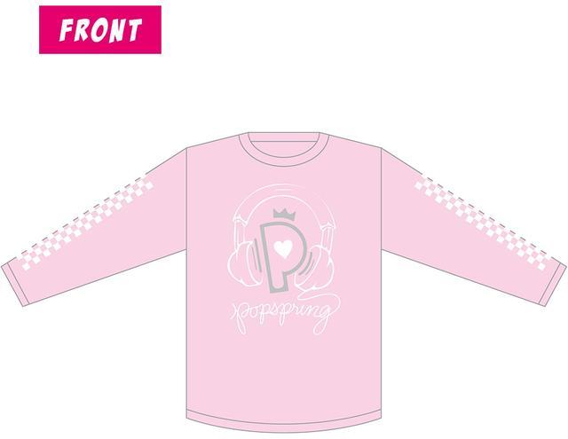 画像: Color:ピンク Size:M / L / XL Price:¥4,500 ※バックプリントにはアーティスト・ラインナップが入りま