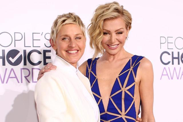 画像: ポーシャ(右)は、人気トーク番組『エレンの部屋』の司会者エレン・デジェネレス(左)の妻としても知られる。