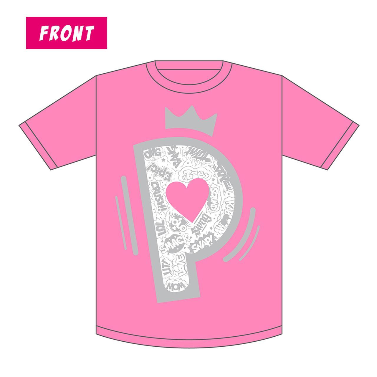 画像: Color:ピンク Size:S / M / L / XL Price:¥3,500 ※バックプリントにはアーティスト・ラインナップが入ります。