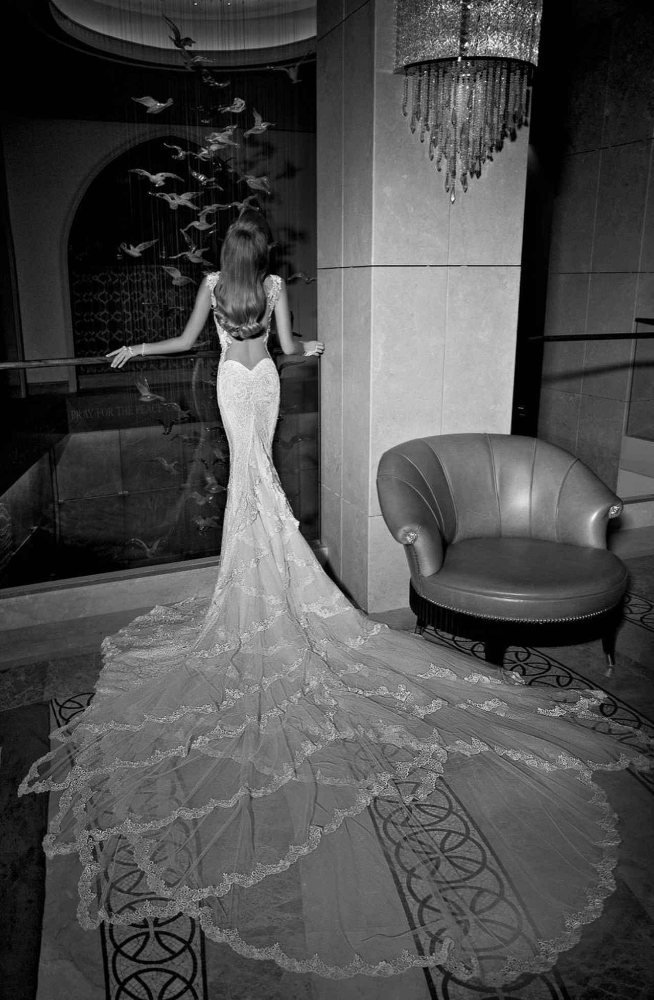 画像2: NY/パリの旬なウェディングドレスを扱うサロン、マグノリア・ホワイトに新作が登場