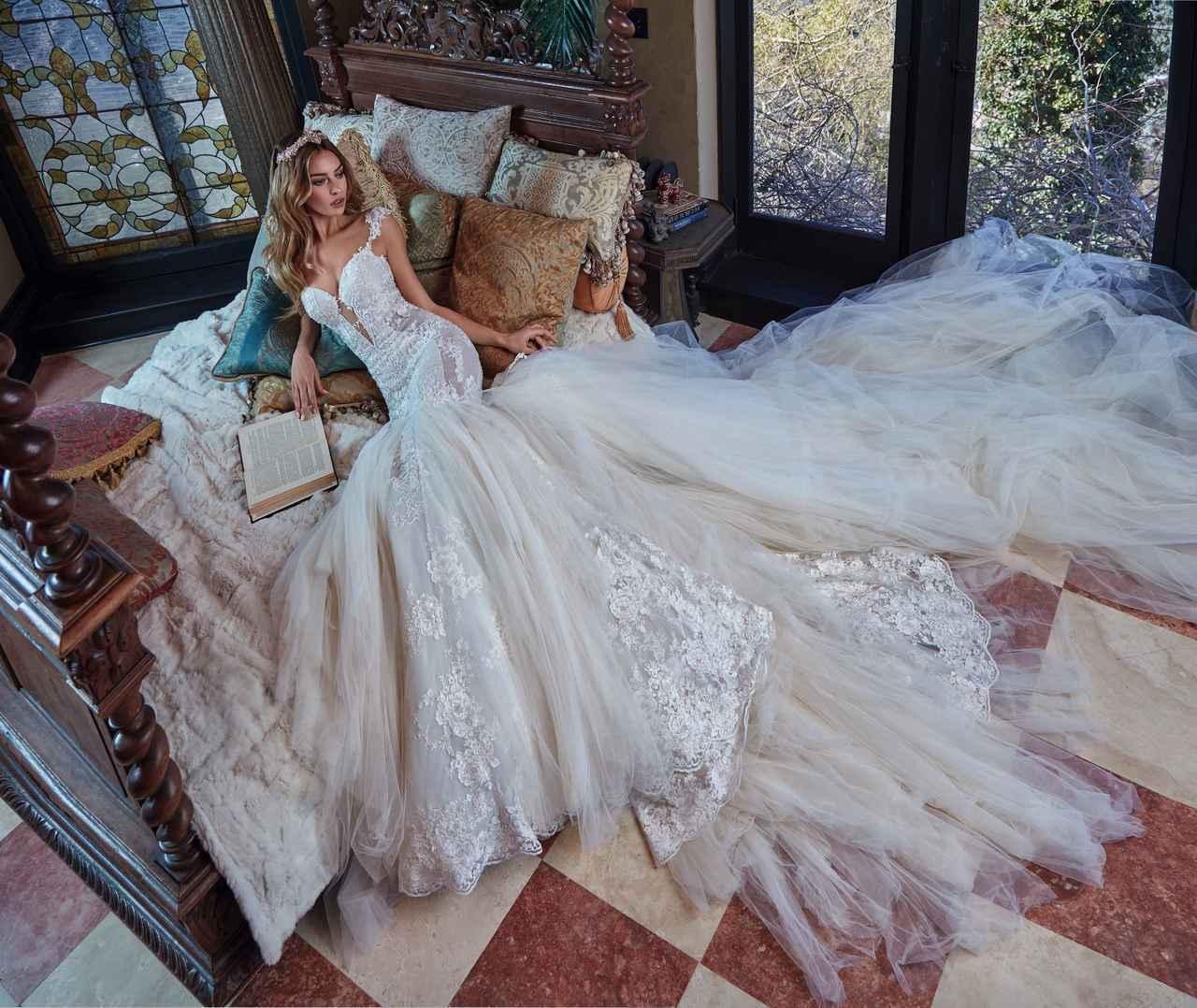 画像1: NY/パリの旬なウェディングドレスを扱うサロン、マグノリア・ホワイトに新作が登場