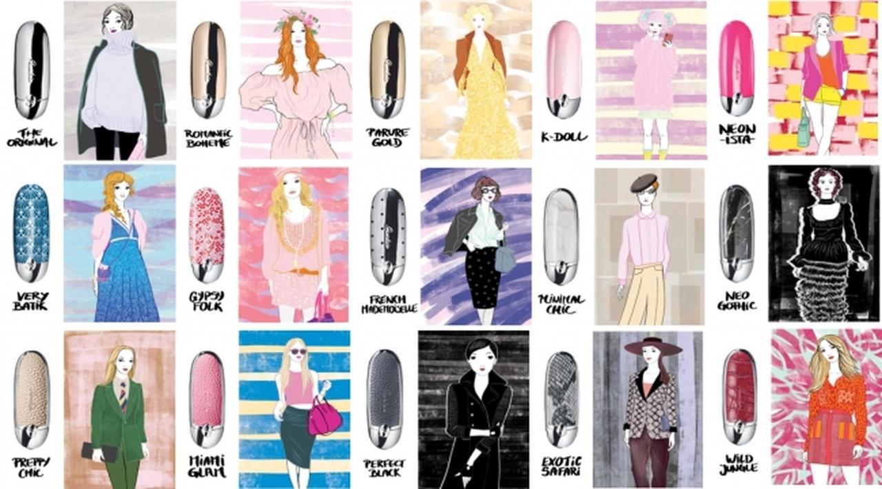 画像: 日本限定!プシエメク・ソブツキが描き出す世界に15人の女性の<マイ ルージュ ジェ>