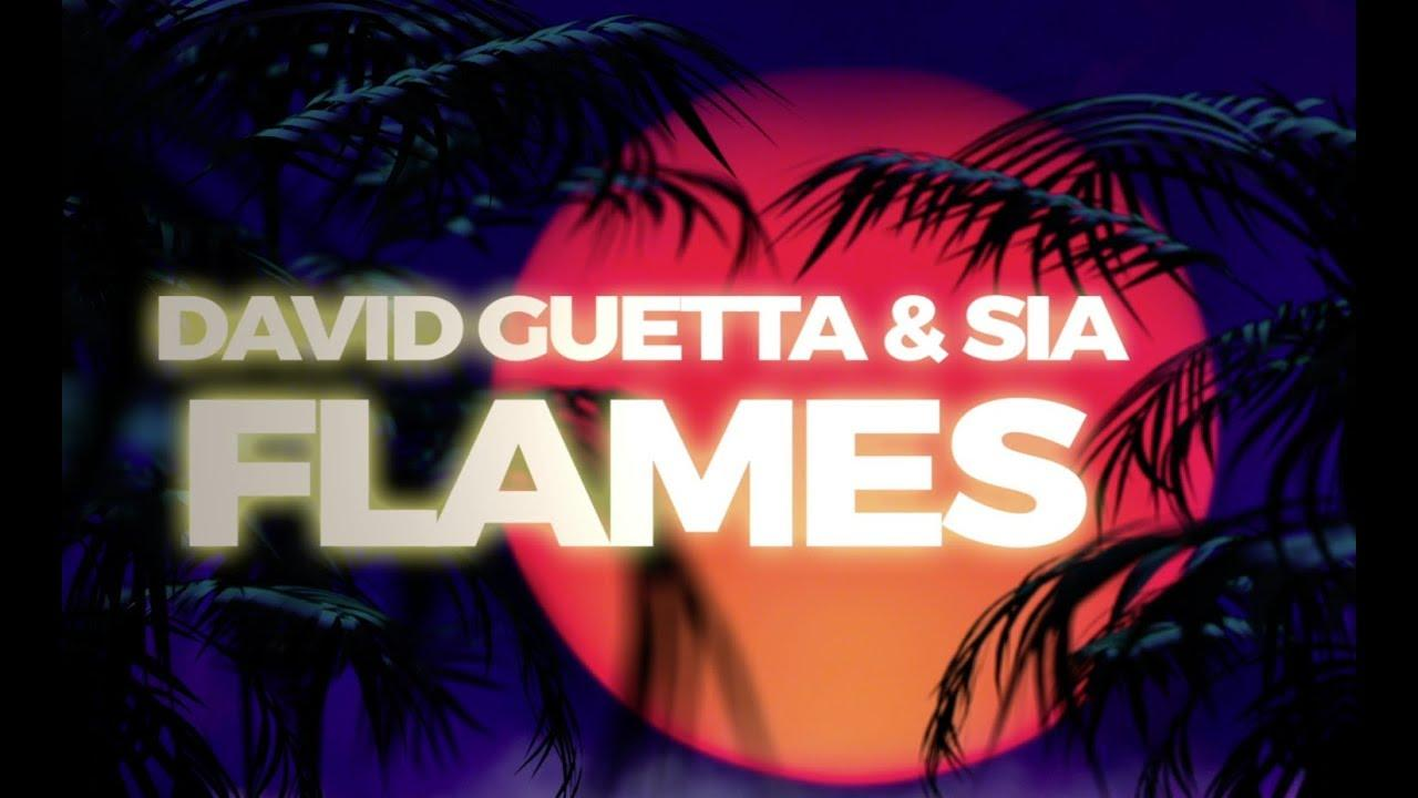 画像: David Guetta & Sia - Flames (Lyric Video) www.youtube.com