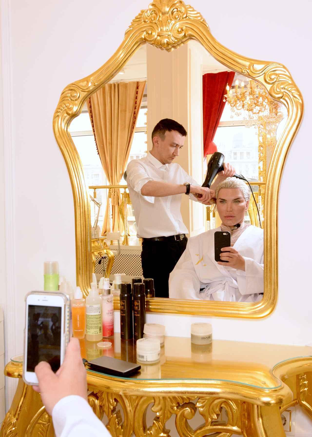 画像3: 「リアルケン」になりたい男性、美容デーはVIP待遇