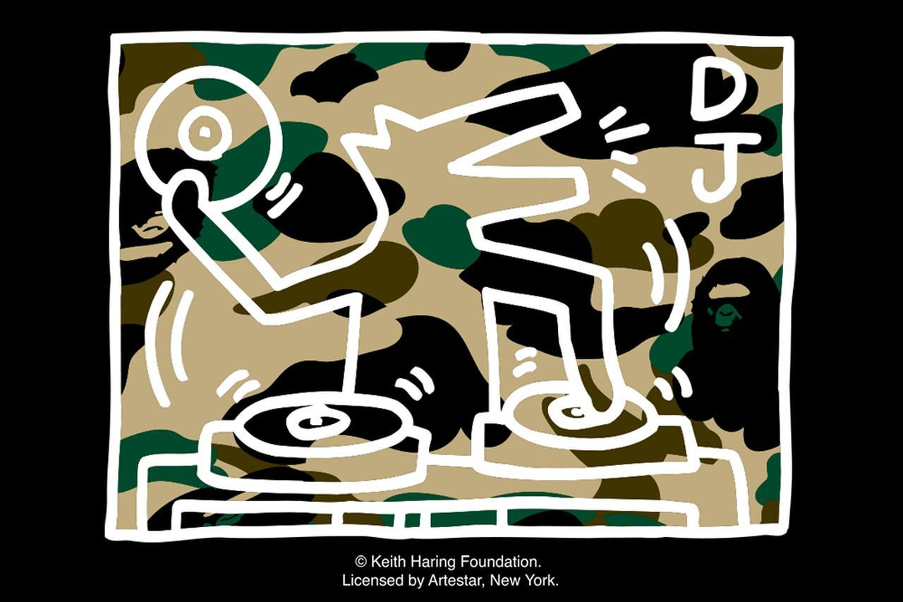 画像1: BAPE×キース・ヘリングのコラボアイテムが発売!13アイテムを公開