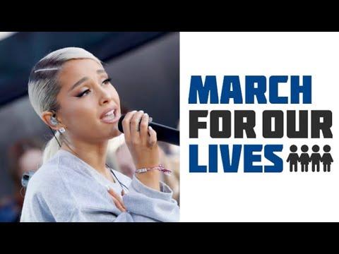画像: Ariana Grande - Be Alright (Live at March For Our Lives) www.youtube.com