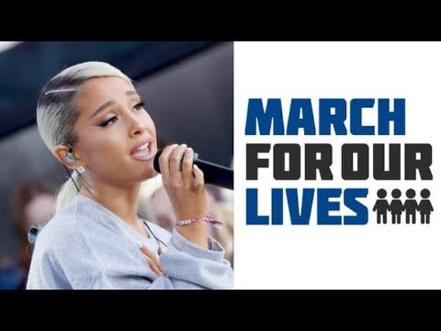 画像: Ariana Grande - Be Alright (Live at March For Our Lives) www.youtube.com