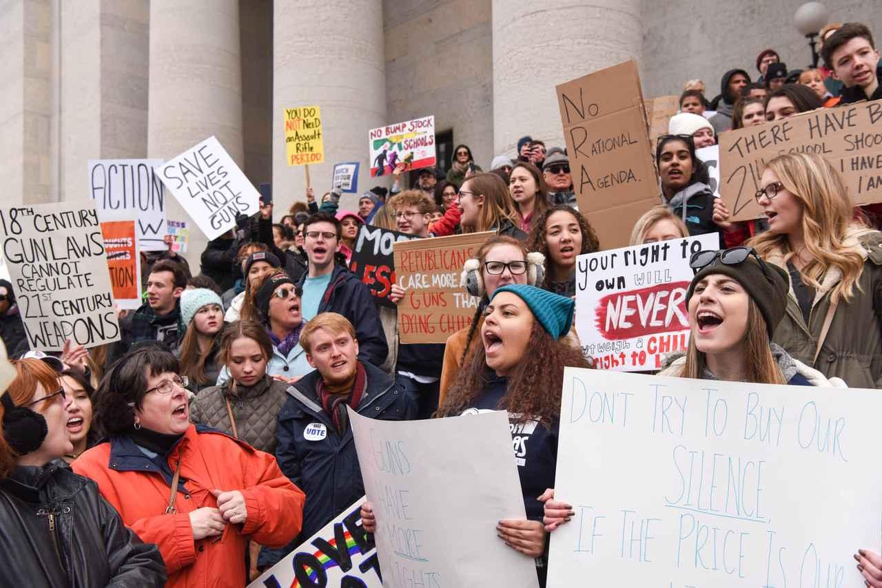 画像1: POPSPRING 2018で来日したセレブ、高校生による銃規制デモにコメント【独占】