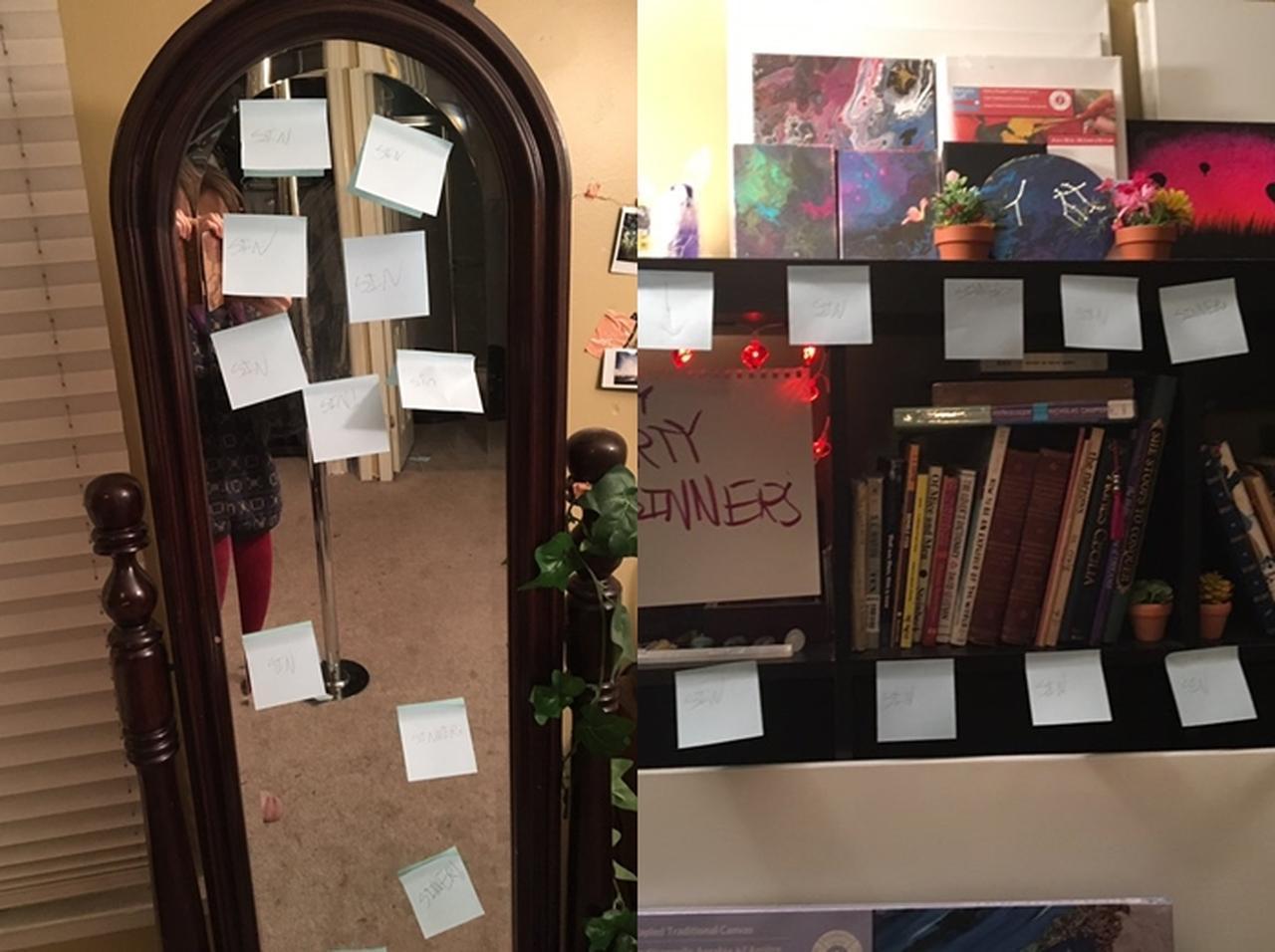画像3: 家中に怒りのメモ