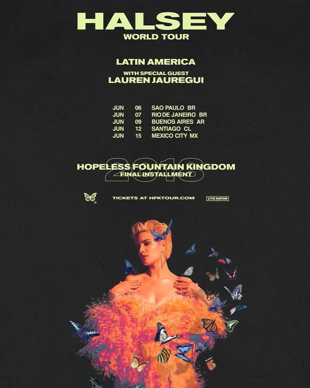 画像1: @laurenjauregui - Instagram:「So excited to be joining the lovely @iamhalsey on her LATINO AMERICA run! Click the link for tickets」 www.instagram.com