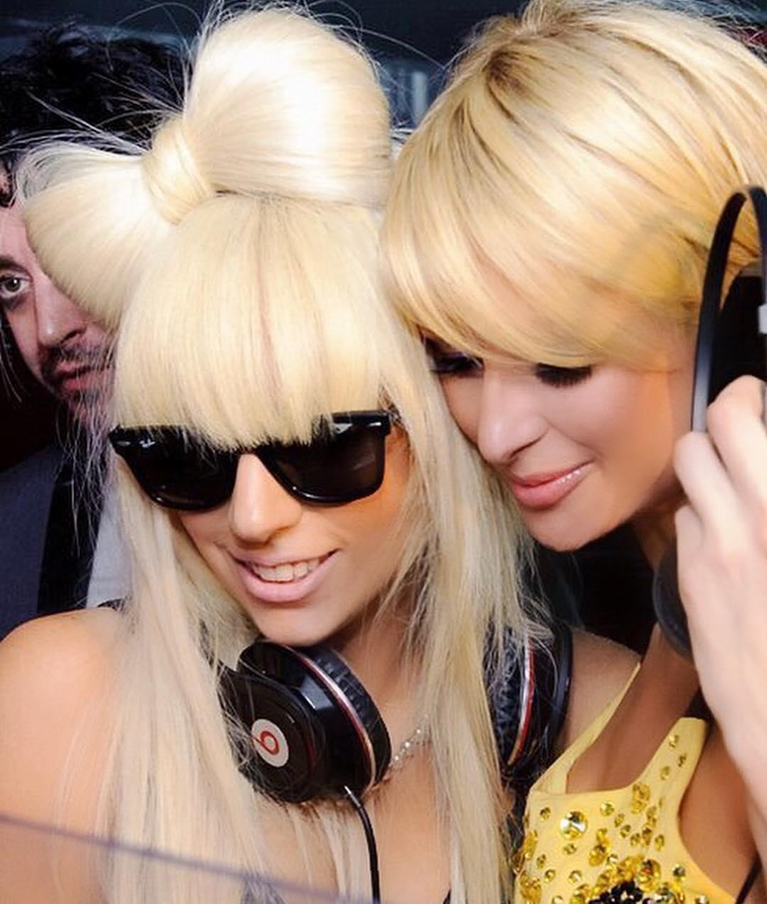 画像1: Paris HiltonさんはInstagramを利用しています:「Happy Birthday @LadyGaga! So proud of you & all your success! Keep #Killingit beautiful! 」 www.instagram.com