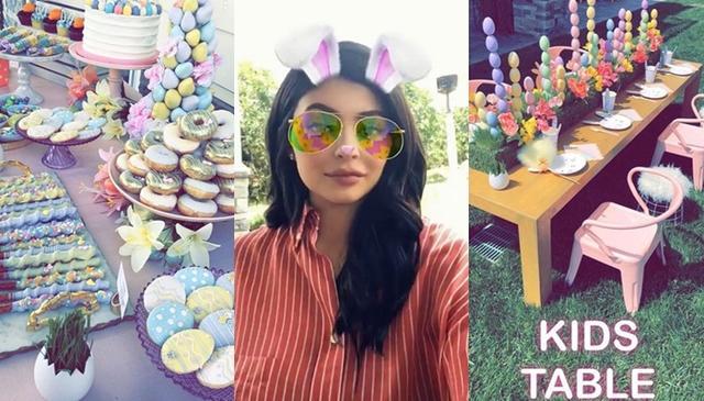 画像: ©Kylie Jenner / Snapchat
