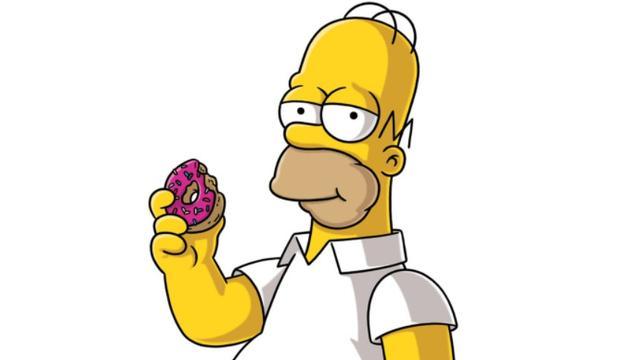 シンプソンズのドーナツ