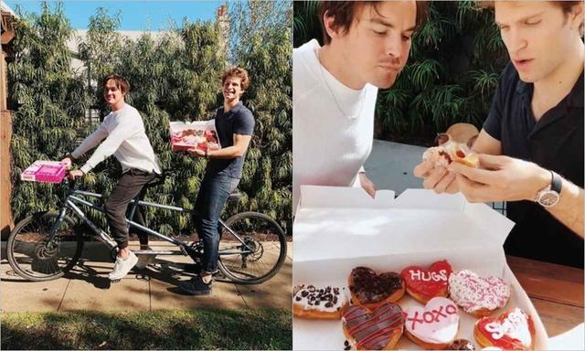 画像: ダンキン・ドーナツのキャンペーンで、タイラーと、男友達LOVEな思いをアピール。 www.instagram.com
