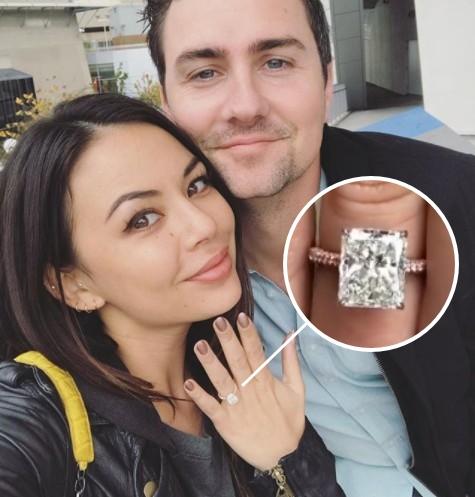 画像: 「ずっと見つめちゃう」とSNSで語り、指輪に大満足の様子。 www.instagram.com