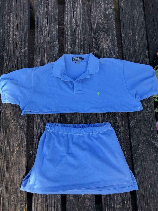 画像1: 真似できる!父親のポロシャツをアレンジした商品が可愛すぎて売り切れ続出