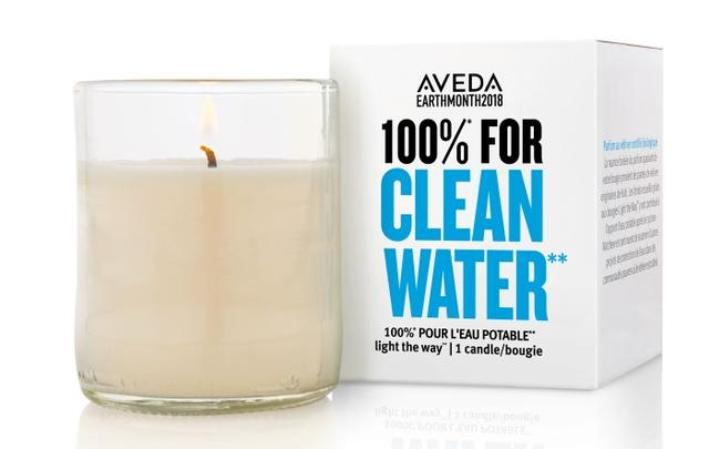 画像: アヴェダ、チャリティキャンドルで世界の人にクリーンな水を!