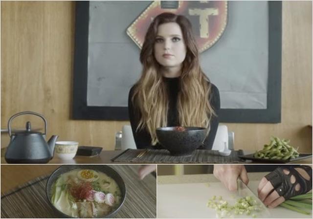 画像: 「オーバー・マイ・ヘッド」MVにラーメンと枝豆が登場。