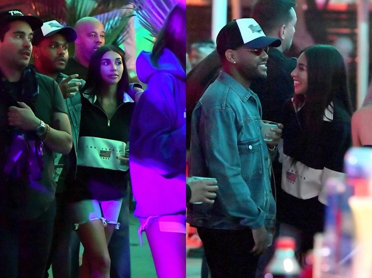 画像: シャンテルはシンガーのジャスティン・ビーバーと一時期交際をウワサされていた。 ©Twitter/The Weeknd News