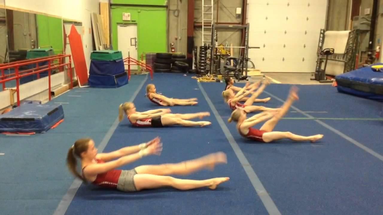 画像: Uptown Abs workout at Gymtastics Gym Club www.youtube.com