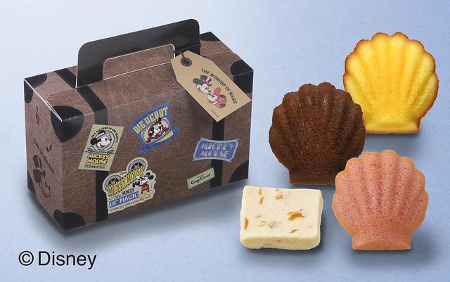 画像: <ディズニー>トランクケース(4種10個入)  1,080円(税込)