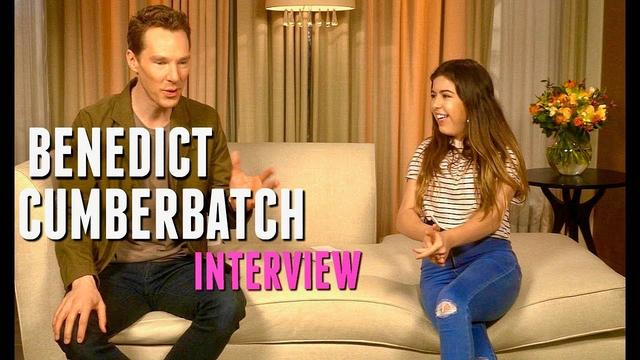 画像: Sophia Grace | Interviews Benedict Cumberbatch On Gender Equality, Bullying And More!!! www.youtube.com