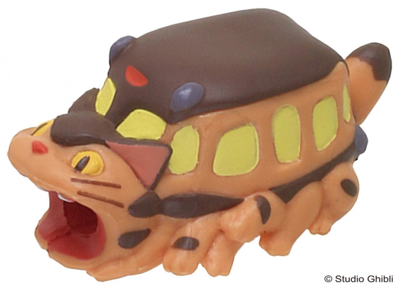 画像3: ネコバス、ポニョ、カオナシがガブッと噛みつく「ケーブルカバー」登場