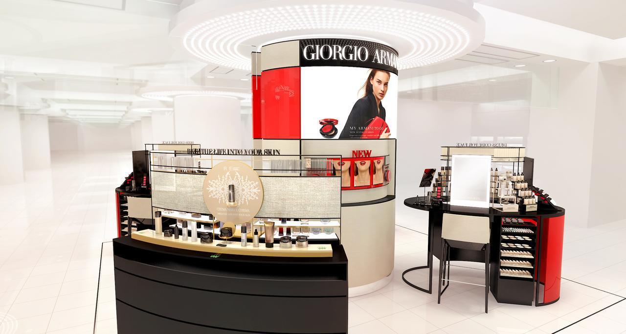 画像: ジョルジオ アルマーニ ビューティがついに東京に2店舗オープン!