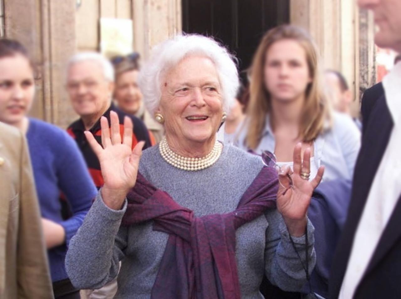 パパ・ブッシュ元大統領の妻92歳...