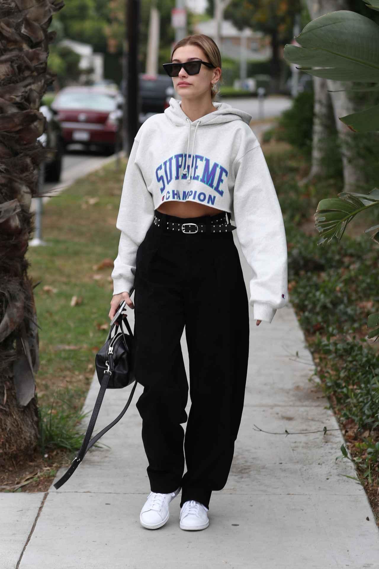 画像: 人気モデルのヘイリー・ボールドウィン