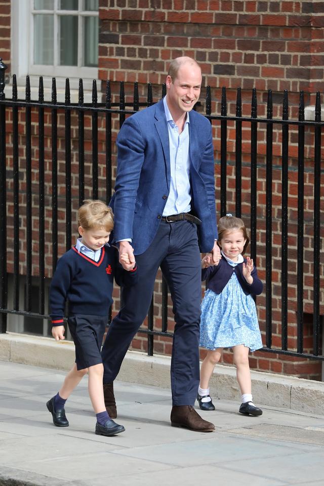画像2: 【速報】キャサリン妃&ウィリアム王子の第3子がお披露目!