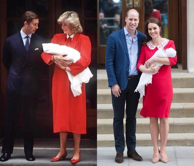 画像2: キャサリン妃が第3子のお披露目に選んだ「赤いワンピース」に感動する人続出