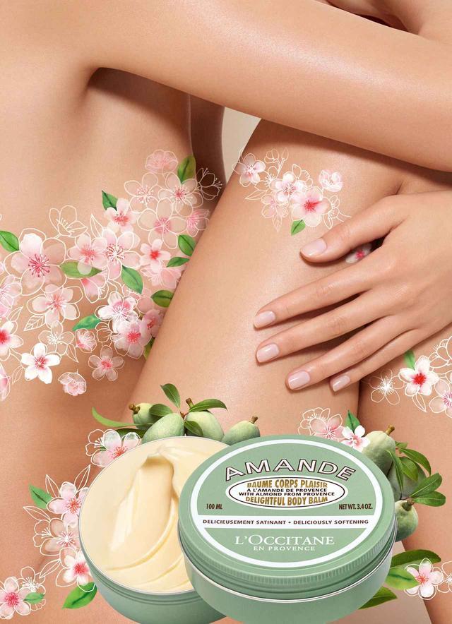 画像: ロクシタン、アーモンドでミルキーな「可愛い肌」を作るボディクリームを新発売