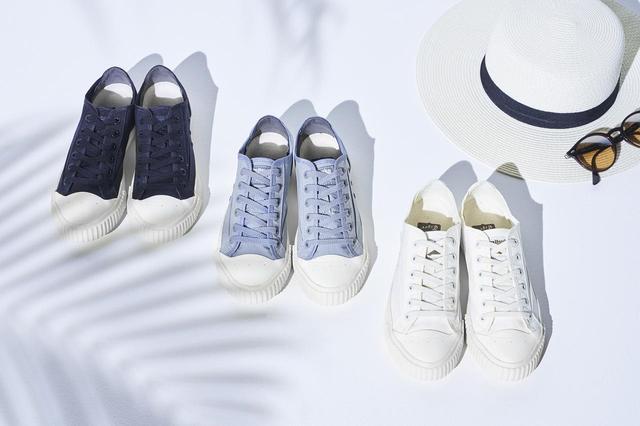画像4: オニツカタイガー、軽くておしゃれなナイロン素材のスニーカーを新発売!