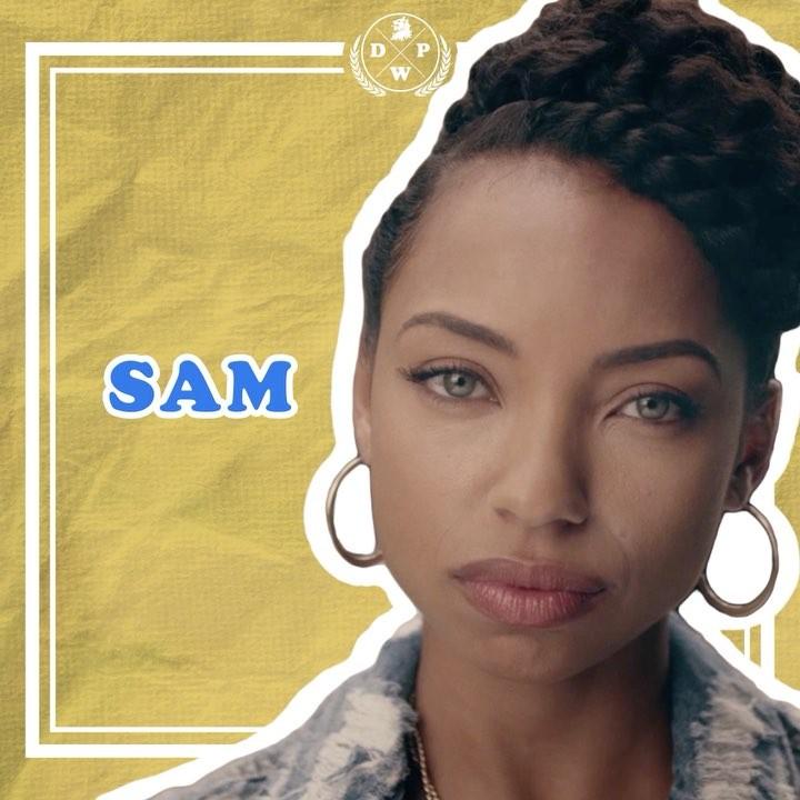 """画像1: Dear White People on Instagram: """"Meet Sam: Don't ask her what she is. #DearWhitePeople"""" www.instagram.com"""