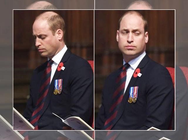 第3子誕生でお疲れ?ウィリアム王子が必死に睡魔と闘う姿に応援