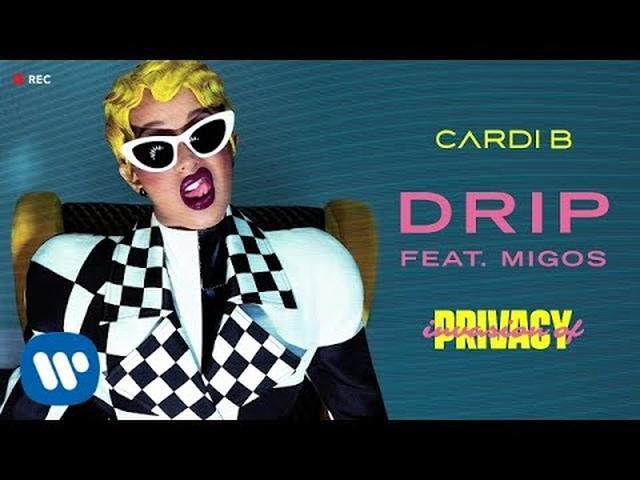 画像: Cardi B - Drip feat. Migos [Official Audio] youtu.be
